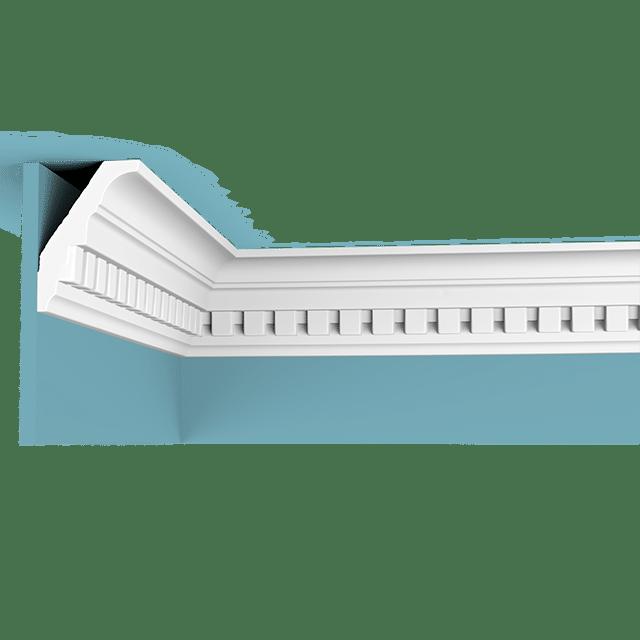 """קרניז פוליאוריתן בין תקרה לקיר דגם 1001 רוחב : 7.7 ס""""מ גובה : 5.9 ס""""מ"""